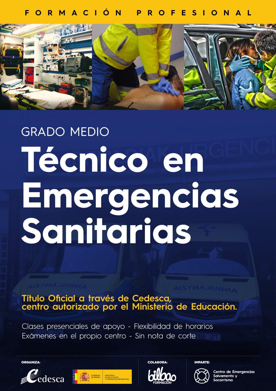 Quieres Formarte Como Técnico En Emergencias Sanitarias