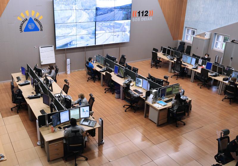 Centro coordinador 112 SOS DEIAK