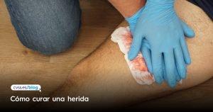 Como curar una herida