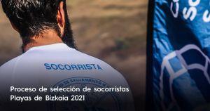 Trabajar como socorrista en playas de Bizkaia – Verano 2021