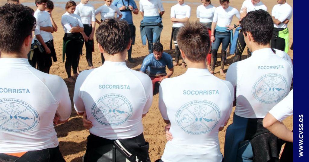 curso socorrista playas cantabria alumnos