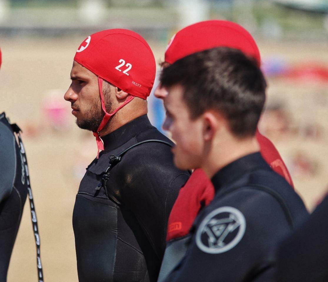 Mikel Sanchez, socorrista playa muskiz