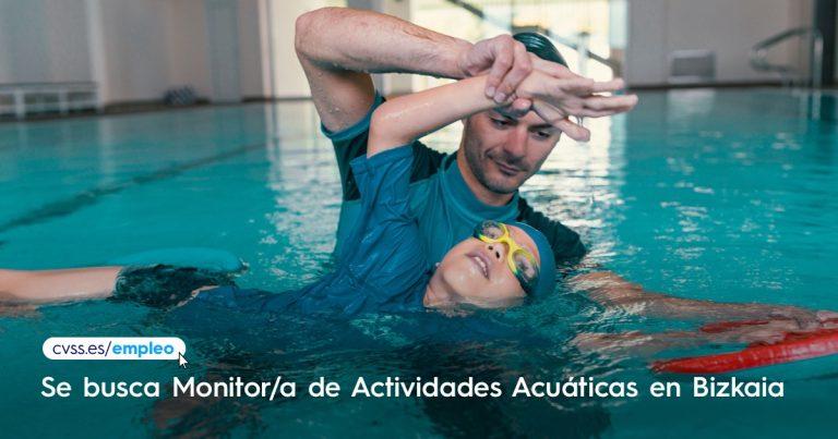 Monitor de actividades acuaticas