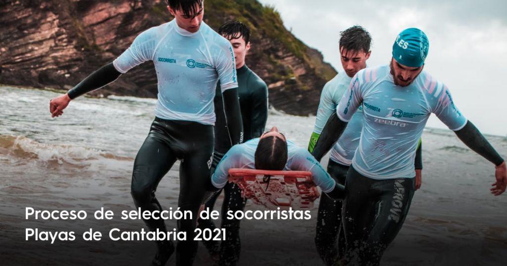 Proceso de selección para trabajar como Socorrista en Playas de Cantabria 2021